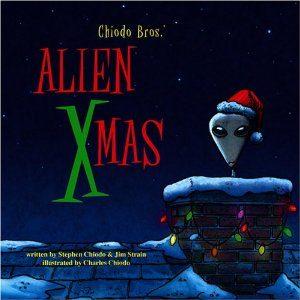 Alien Xmas Book Coer