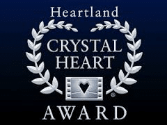 Heartland Crystal Heart Award  Logo