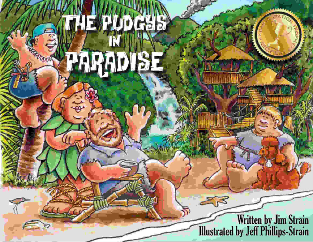 The Pudgys in Paradise book cover