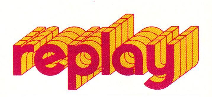 Orange replay logo