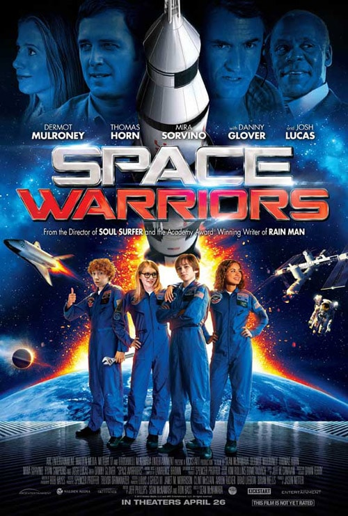 Space Warriors Movie Poster