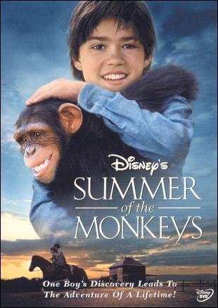 Summer of the Monkeys poster